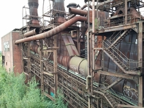Abandoned sintering plant near Duisburg Germany