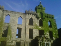 Abandoned Smallpox Hospital on Roosevelt Island in New York City