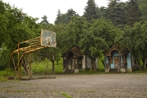 Abandoned Soviet health camp in Armenia