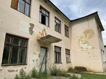 Abandoned Soviet style kindergarten in Mongolia Mongolia was former socialist country from  to
