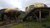 Abandoned spaceship Taiwan