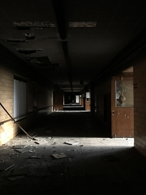 Abandoned Special Education School Detroit MI