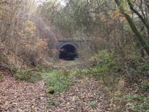 Abandoned Spinkhill railway tunnel