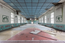 Abandoned sports hall  by Michael Tger