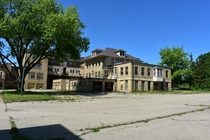 Abandoned St Coletta School for Exceptional Children in Jefferson Wisconsin