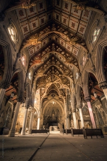 Abandoned St Josephs Church in Albany New York