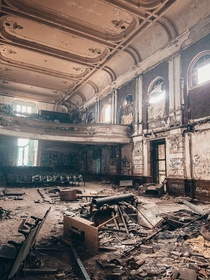 Abandoned St Michael Catholic School Was a super tiny school mainly known for their theater shows
