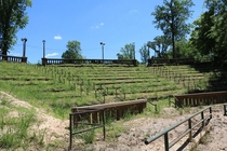 Abandoned Stadium by Cape Fear River