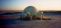Abandoned Star Wars set in TunisiaMorocco