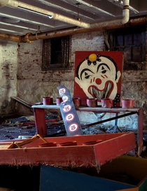 Abandoned State Hospital Carnival Games
