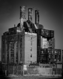 Abandoned steam plant in Philadelphia PA