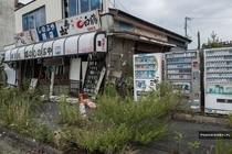 Abandoned store in Japans Fukushima Exclusion Zone