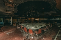 Abandoned strip club in Montreal Canada
