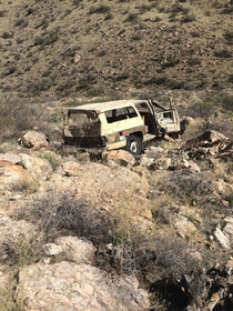 Abandoned Suburban in the Catalina Mountains
