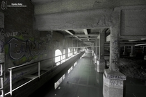 Abandoned Subway Between Subway and Dam x