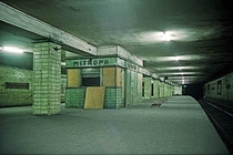 Abandoned Subway station in East Berlin
