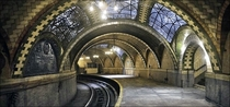 Abandoned Subway Terminal