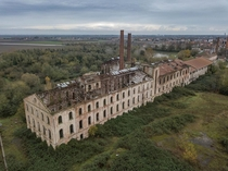 Abandoned sugar factory