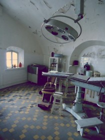 Abandoned Surgical room in prison Tallinn Estonia