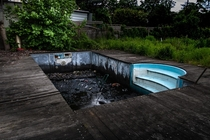 Abandoned swimming pool found on my last exploration
