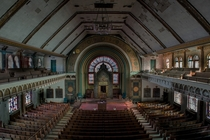 Abandoned Synagogue in Chicago Illinois - Photo by Mike McCawley