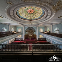 Abandoned synagogue in USA Obsidian Urbex Photography