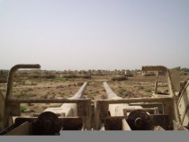Abandoned Tank Graveyard - Taji Iraq personal photos