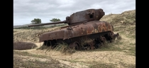 Abandoned Tanks in Normandy France