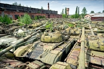 Abandoned tanks X-post from rbattlefield_
