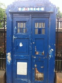 Abandoned Tardis in Glasgow UK Photo by Gordan Barr