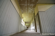 Abandoned teaching facility commonly known as The White School  guess why