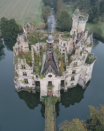 Abandoned th century chateau located in France