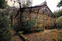 Abandoned th Century Greenhouse