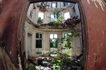 Abandoned th-century manor in Goussainville-Vieux France