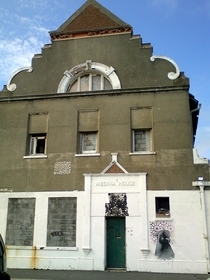 Abandoned th Century Turkish Bath House in Hove East Sussex Picture taken in  Bought by Dave Gilmour of Pink Floyd in  to restore Demolished in  as beyond repair
