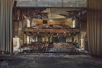 Abandoned Theater  by Julia Kamp