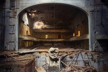 Abandoned theater named after Lenin  by Igor