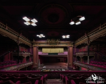 Abandoned theatre in England Squatters were living here and hooked up electricity wwwobsidianurbexphotographycom