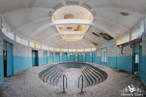 Abandoned thermal spa complex in France decaying since the s