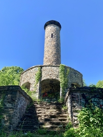 Abandoned tower in Massachusetts