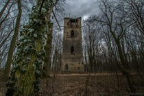 Abandoned tower Ischl in Poland