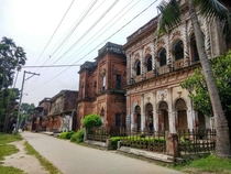 Abandoned town in Bangladesh