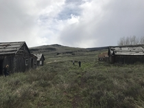 Abandoned Town in Wyoming