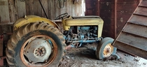 Abandoned Tractor in Old Farm House in Gonzales Texas