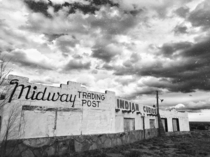 Abandoned trading post in Edgewood New Mexico Built in  and closed in