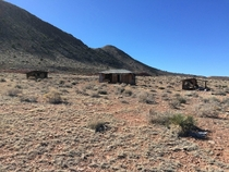 Abandoned Trading Post near east entrance of Grand Canyon