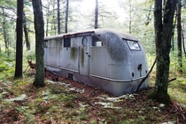 Abandoned trailer I found in the woods of Northern Michigan