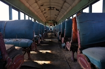 Abandoned Train Cars in Texas