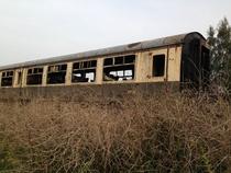 Abandoned Train Coach - Forest of Dean UK