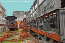 Abandoned train in Havana Cub by Jekurantodistaja